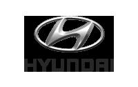 Hyundai logo with emblem