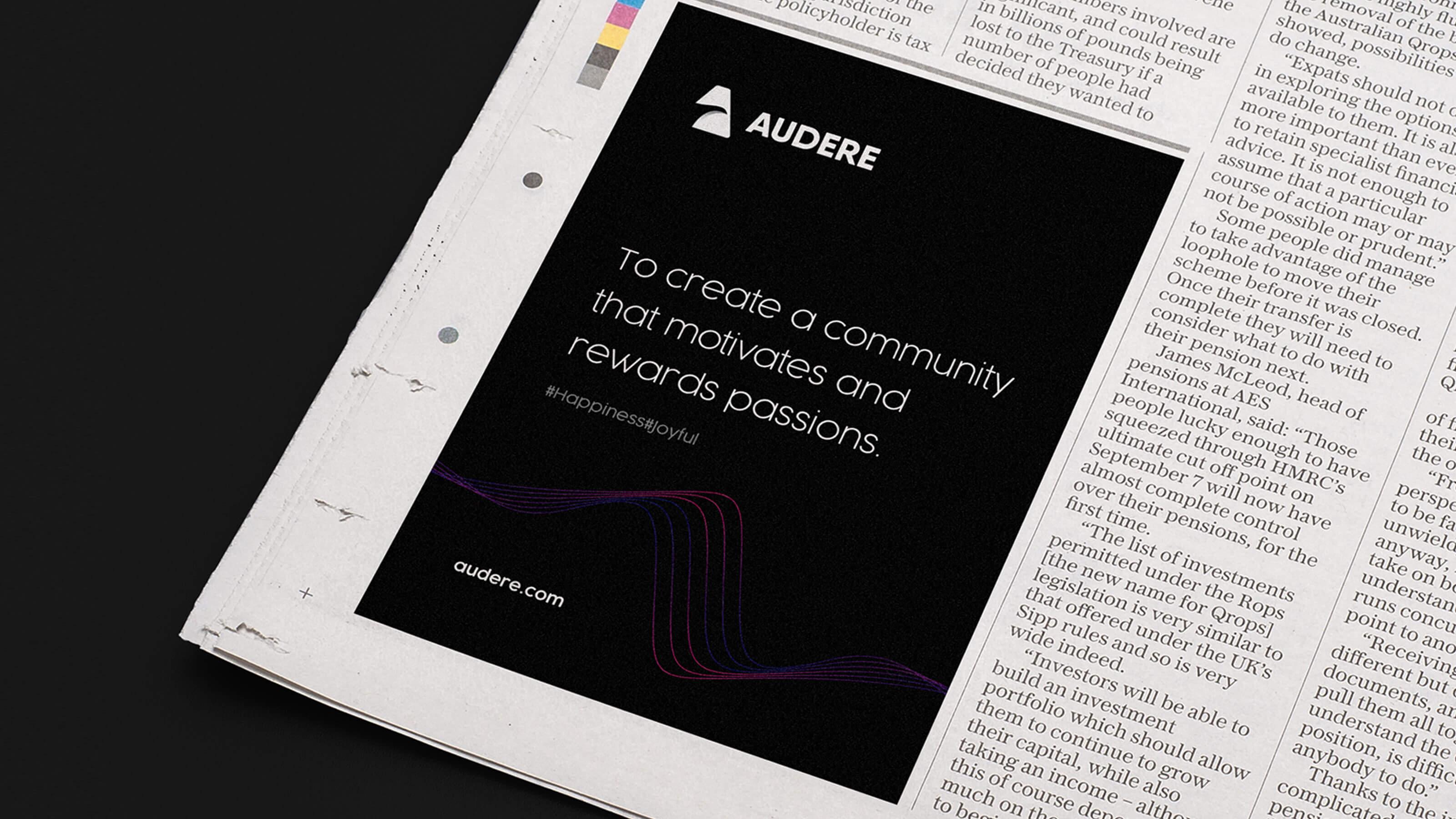 Audere-Brand-news-Paper-Ads